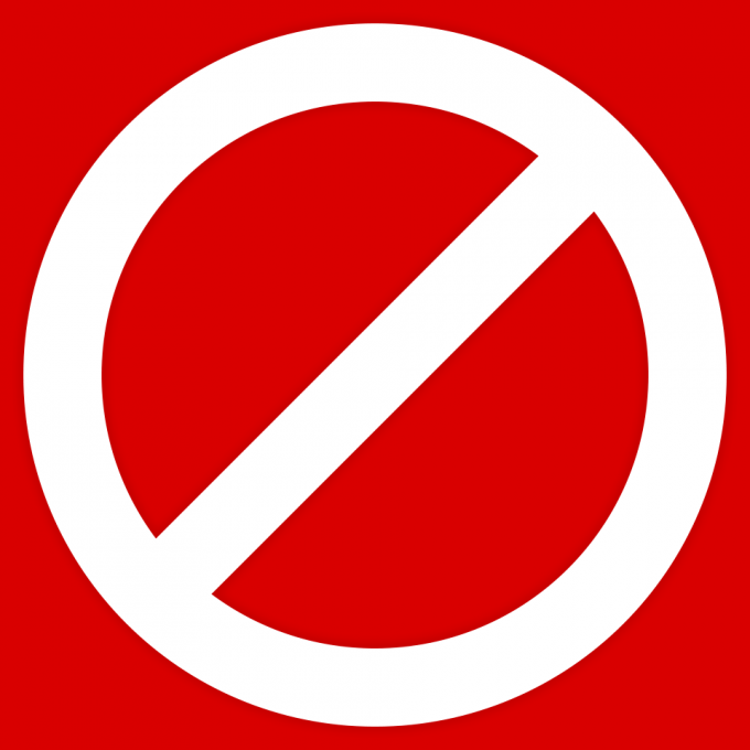 pictogram-nix-sign-white